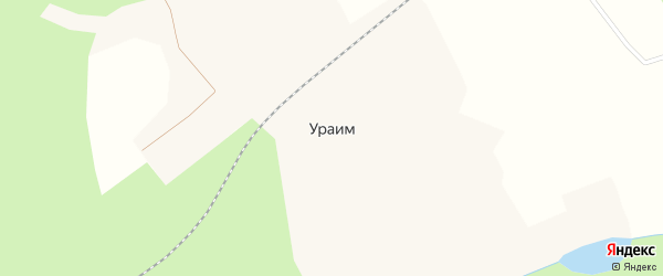 Садовая улица на карте поселка Ураима с номерами домов