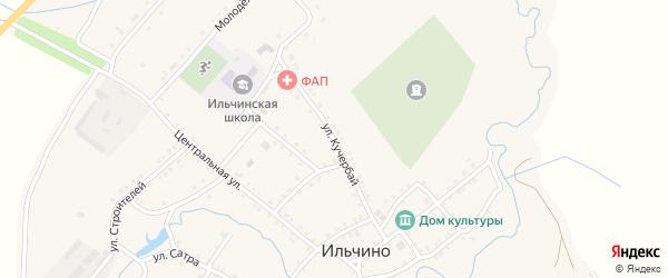 Улица Кучербай на карте села Ильчино с номерами домов
