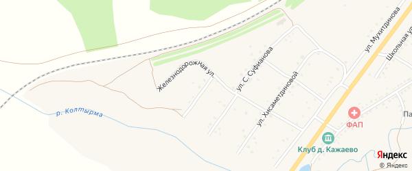 Родниковая улица на карте села Сафарово с номерами домов