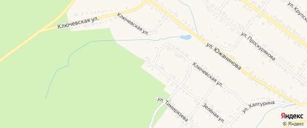 Ключевская улица на карте Нязепетровска с номерами домов