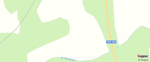 Заречная улица на карте деревни Аптрякова с номерами домов