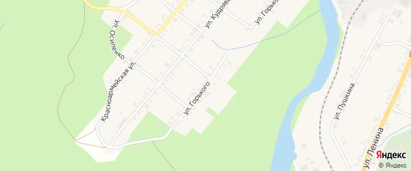 Улица Максима Горького на карте Нязепетровска с номерами домов