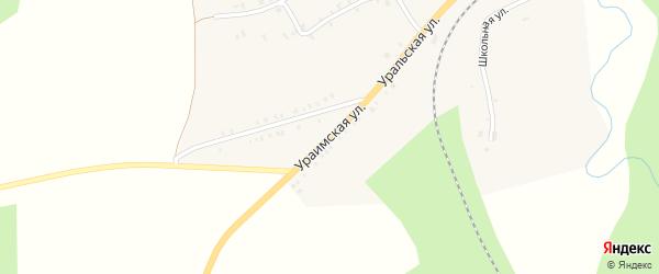 Ураимская улица на карте Нязепетровска с номерами домов