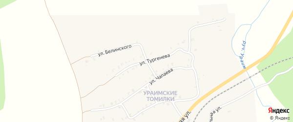 Нагорная улица на карте Нязепетровска с номерами домов