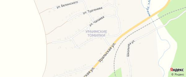 Уральская улица на карте Нязепетровска с номерами домов