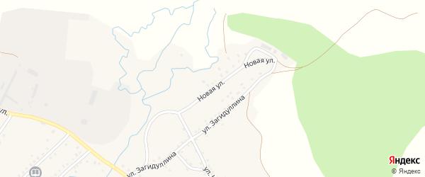 Новая улица на карте села Сафарово с номерами домов