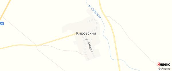 Карта Кировского поселка в Челябинской области с улицами и номерами домов