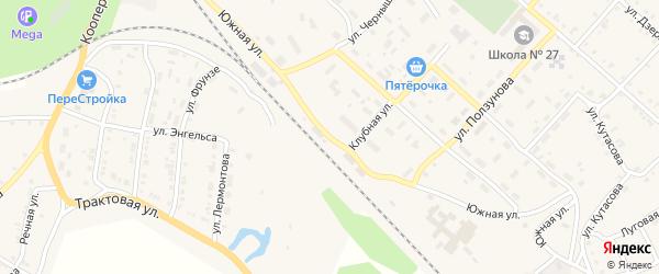 Южная улица на карте Нязепетровска с номерами домов