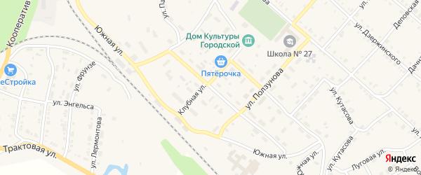 Улица Чайковского на карте Нязепетровска с номерами домов