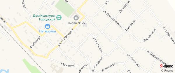 Улица Сергея Лазо на карте Нязепетровска с номерами домов