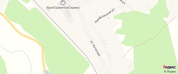 Улица Кутасова на карте Нязепетровска с номерами домов