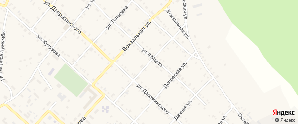 Улица Хилены Кульман на карте Нязепетровска с номерами домов