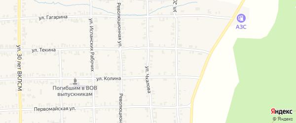 Улица Чкалова на карте Нязепетровска с номерами домов
