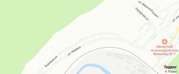 Боровая улица на карте Златоуста с номерами домов