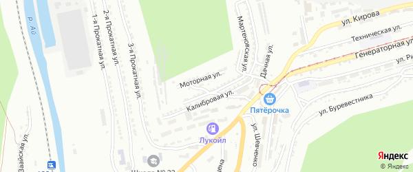 Инструментальная улица на карте Челябинска с номерами домов