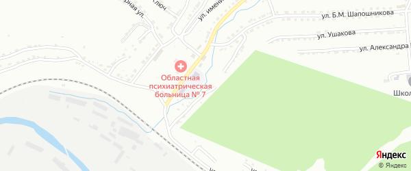 Улица им И.Д.Черняховского на карте Златоуста с номерами домов