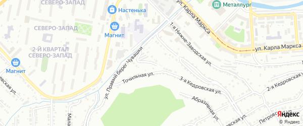 Нижне-Заводская 3-я улица на карте Златоуста с номерами домов