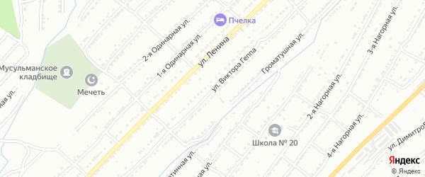 Улица им В.Т.Геппа на карте Златоуста с номерами домов