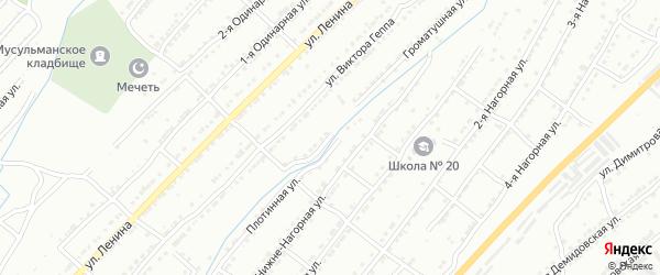 Громатушная улица на карте Златоуста с номерами домов