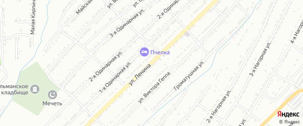 Улица Ленина на карте Центрального поселка с номерами домов