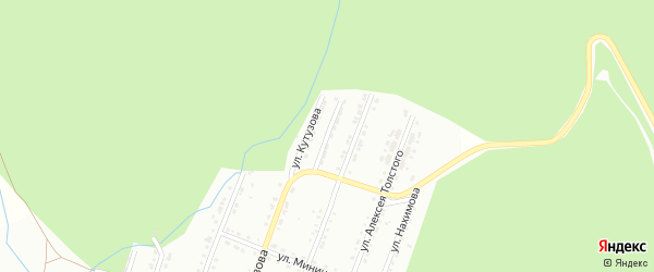Улица им И.П.Галдина на карте Златоуста с номерами домов