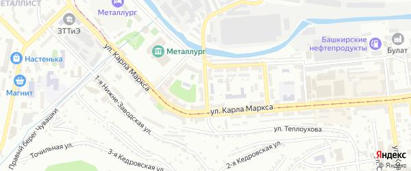 Улица им А.С.Макаренко на карте Златоуста с номерами домов
