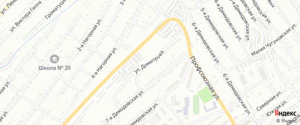 Улица им Георгия Димитрова на карте Златоуста с номерами домов