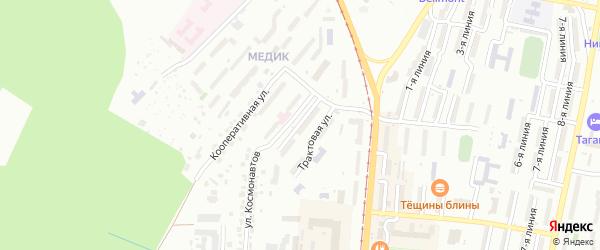 Верхне-Трактовая улица на карте Златоуста с номерами домов