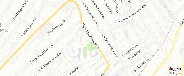 Профсоюзная улица на карте Златоуста с номерами домов
