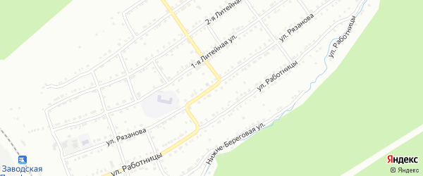Улица им В.П.Рязанова на карте Златоуста с номерами домов