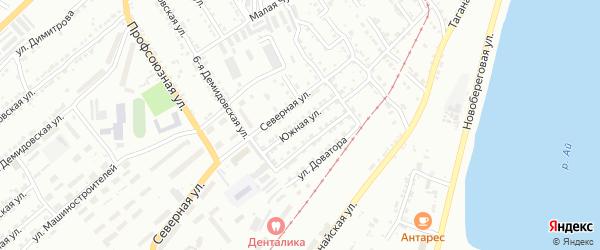 Южная улица на карте Златоуста с номерами домов
