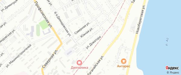 Улица им П.П.Аносова на карте Златоуста с номерами домов