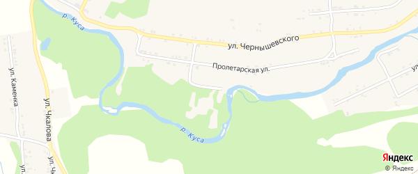Улица Малышева на карте поселка Магнитки с номерами домов