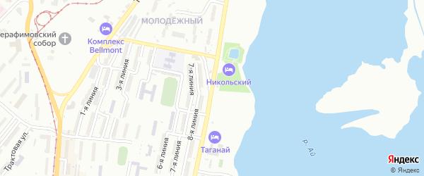 Проспект 30-летия Победы на карте Златоуста с номерами домов