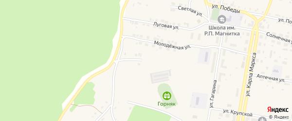 Уральская улица на карте поселка Магнитки с номерами домов
