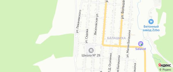 Улица им Г.Я.Седова на карте Златоуста с номерами домов