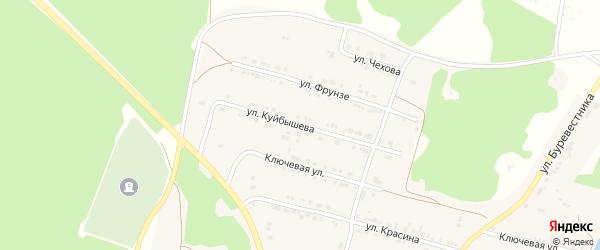 Улица Куйбышева на карте поселка Магнитки с номерами домов