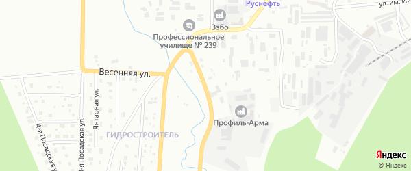 Улица Спецдревесины на карте Златоуста с номерами домов