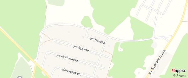 Улица Чехова на карте поселка Магнитки с номерами домов