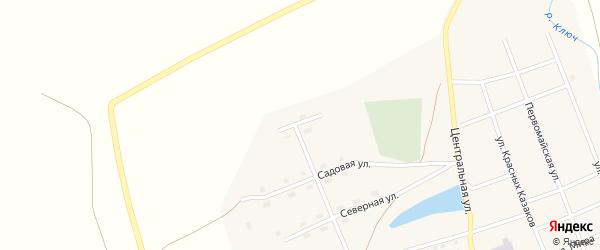 Улица Новоселов на карте Полоцкого села с номерами домов