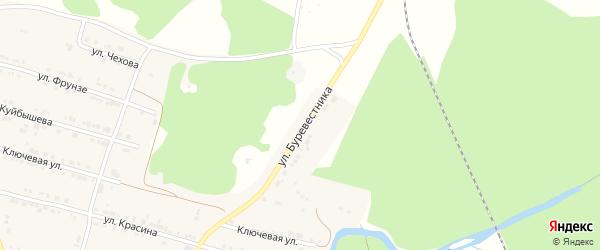 Улица Буревестника на карте поселка Магнитки с номерами домов