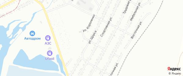 Улица им Н.А.Щорса на карте Златоуста с номерами домов