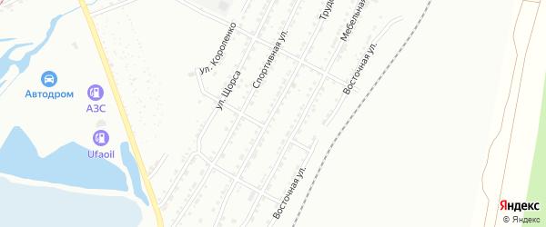 Трудовая улица на карте Златоуста с номерами домов