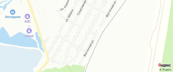 Мебельная улица на карте Златоуста с номерами домов