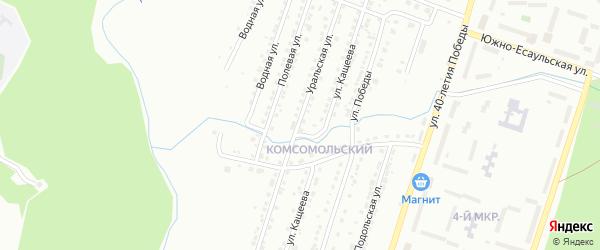 Уральская улица на карте Златоуста с номерами домов