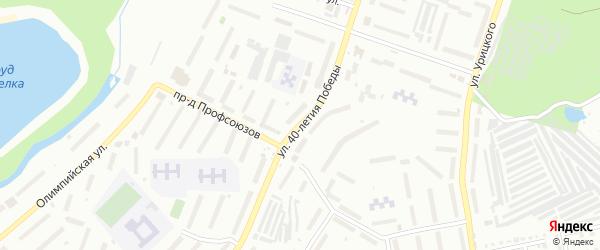 Улица 40-летия Победы на карте Златоуста с номерами домов