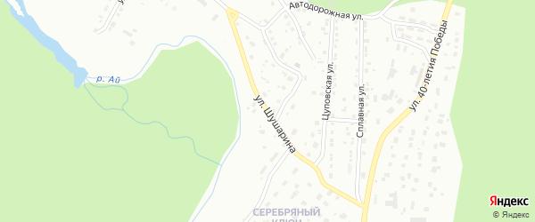 Улица им Д.И.Шушарина на карте Златоуста с номерами домов