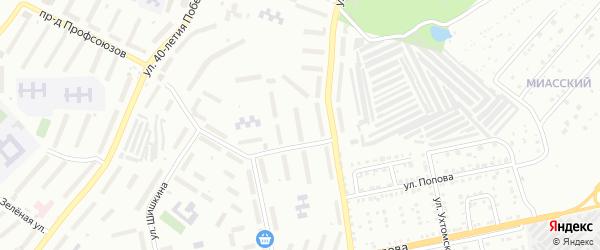 Территория ГК Дружба-5 3 очередь на карте Златоуста с номерами домов