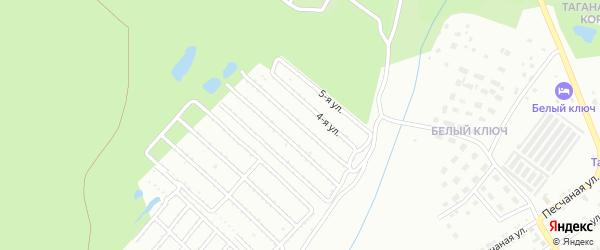 СНТ Товарищество-5 ПО ЗМЗ на карте Златоуста с номерами домов