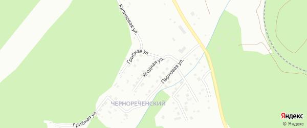 Ягодная улица на карте Златоуста с номерами домов